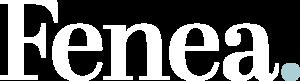 Fenea Logo White