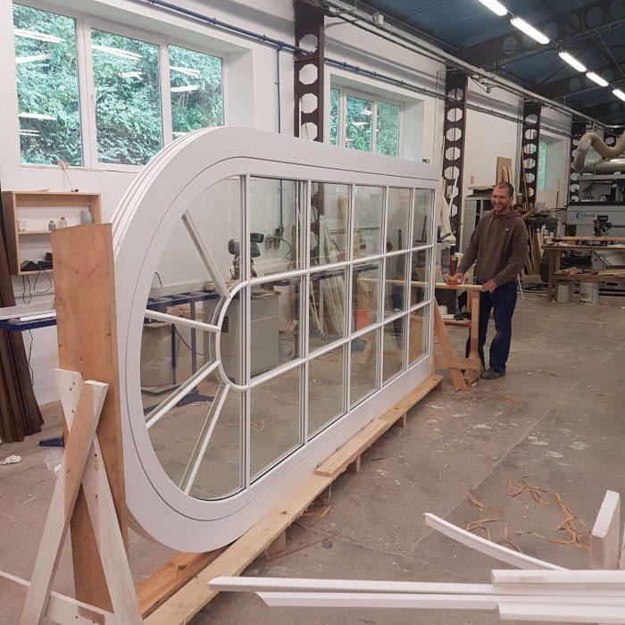 Timber Flush Casement Windows