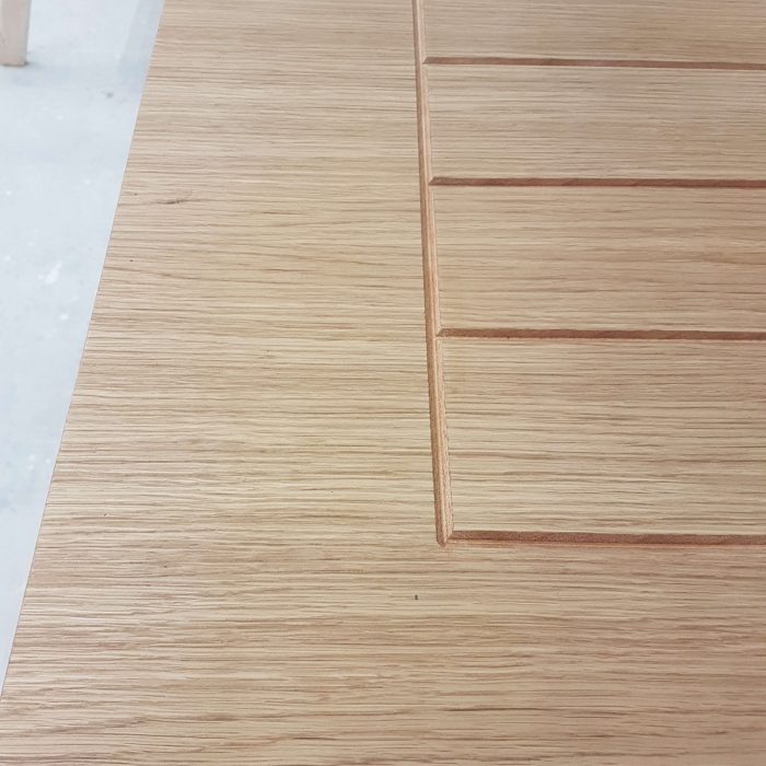 Timber Entrance Door Detail