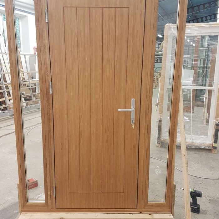 Entrance Door with Sidelights