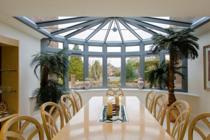 Aluminium Windows & Roof Lantern