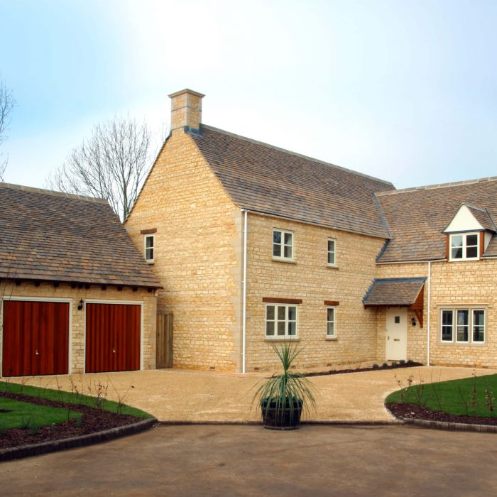 Timber Casement Windows in New Home