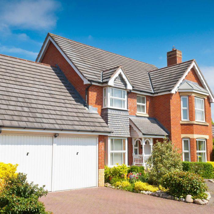 New build homes with Sliding Sash Windows